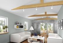 Kolor w mieszkaniu / Tutaj znajdziecie inspirację dla siebie jak malować pokoje jakie kolory mogą ciekawie wyglądać w waszych wnętrzach