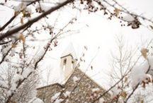 - MARIAGE EN HIVER - / Retrouvez dans ce tableau, des idées pour organiser un mariage en hiver... www.lamarieeauxpiedsnus.com