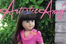 American girl doll items / by Miranda Leigh