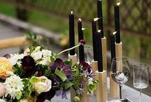 Fall party tables