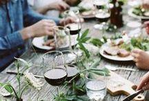 - RECEVOIR - / Retrouvez dans ce tableau des idées pour vos jolis diners, et vos soirées entre amis. www.lamarieeauxpiedsnus.com