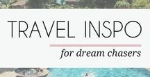 TRAVEL INSPIRATION / A board for the travel bugs. Learn some new travel hacks, packing tips and destination ideas. To follow along with THIS travel blogger, visit mayamaceka.com/category/travel