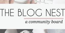 THE BLOG NEST / Want to boost your blog traffic? Share your latest + greatest pins with this group full of bloggers! All topics are welcome. No spamming allowed. Vertical pins only. To become a contributor, please join The Blog Nest on Facebook >> https://www.facebook.com/groups/theblognest