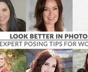 Posing & Style Tips to Look Your Best in Photos / Look like a celebrity in your next family photos, headshots, or portraits.