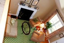 STAGED ROOMS / Home staging services and room creations provided for vacant / model homes, developers, builders and occupied home clients by Debbe Daley. / by Debbe Daley