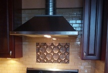 TILE & BACKSPLASH DESIGNS / All tile designs and creations by Debbe Daley / by Debbe Daley