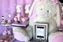 """""""Modern Baby Girl"""" Shower Sweets Bar / by Soiree Event Design"""