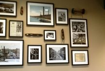 PICTURE PLACEMENT / How to hang pictures and art creatively! / by Debbe Daley