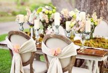 Garden Wedding / My Wedding Inspiration is a beautiful, fairytale outdoor garden wedding with blush and mint colors. I love lush flowers, intimate candlelight, vintage style decor, beautiful details and for a wedding to be an event that everyone has the best time at. I am in love with the soft, feminine and fairytale garden wedding theme and being surrounded by nature.  / by Shannon Russ