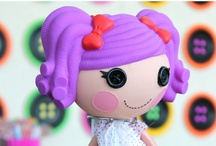 "Lalaloopsy Party / #Lalaloopsy Inspired party I designed. As seen on my ""Look for Less"" series on Hostess with the Mostess featuring our ""Cute As A Button"" printables & button wall!"