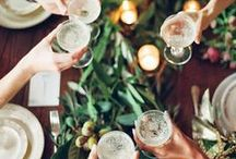 Dinner Party Inspiration  / by KC You There