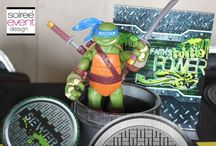 Teenage Mutant Ninja Turtles Party / Check out this board full of Teenage Mutant Nina Turtles Party inspiration plus lots of other things I love TMNT