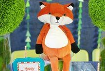 Cute As A Fox 1st Birthday