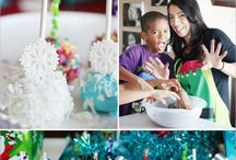 Christmas Oreo Cookie Balls Party