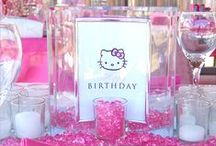 Hello Kitty / Inspiration for a Hello Kitty party and lots of cool Hello Kitty stuff. Plus...my signature Hello Kitty party.