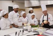 Classes at CIL / Watch our students learning how to cook with their Chefs! Baking&Pastry Arts and Culinary Arts at Culinary Institute LeNôtre.