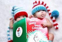 Christmas Photography / Inspiration Board for Christmas Themed Family Photoshoot