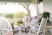 Back porch livin'