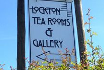 Lockton Tearooms & gallery / A tasteful and delightful tearoom nestled peacefully within North Yorks Moors showcasing high quality art, crafts and gifts www.locktontearoomsandgallery.co.uk