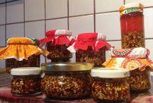 Cocina mexicana en Budapest. / Intento mantener, fuera de mi tierra, mi comida favorita.