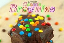 BARS & BROWNIE Recipes / If it's a sweet dessert and cut into a bar you will find it here. Brownie recipes, blondie recipes and bar recipes