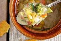 SOUP & STEW Recipes / Looking for a soup recipe? Looking to warm up a winter night with a delicious hot bowl of Soup or Stew? Soup recipes and stew recipes