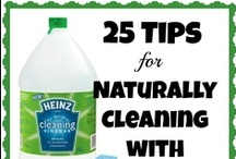 GREEN LIVING / Going Green Homemade Cleaning products DIY green living, cleaning without chemicals.
