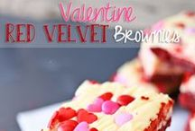 RED VELVET Recipes  / Red Velvet Recipes are showing up everywhere in all kinds of dessert recipes. I'm not sure if it's the beautiful red color of a Red Velvet dessert or the great taste but I can not help myself from collecting every red velvet recipes I find.