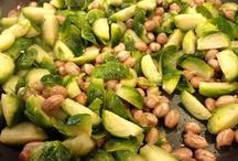 Brussel Sprouts & Peanut Stir Fry