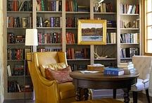bookshelves and frames