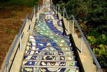 Awesome Artwork: Magnificent Mosaics / Glass and tile mosaics that make me wish I had a speck of artistic talent.