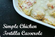 CASSEROLE Recipes /  Casseroles are a one dish wonder. Dinners made easy in one pan.