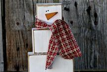 ┊Primitive ~ Rustic┊ / Total closet prim snowman freak. Shhh / by Birdee Lee