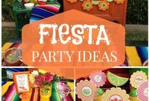 Fiesta Party Ideas / Celebrate a Mexican Fiesta with Fiesta food ideas and Fiesta table settings Enjoy the good life.#Sponsored / by Arlene | Flour On My Face