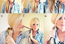 Nails, Hair, and other beautiful tips and tricks / by Kayde Givens