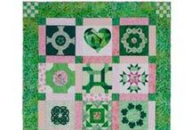 Free Ireland Block of the Month from McCall's Quilting / This ever-green (!) favorite free quilt pattern creates a wonderful sampler of Irish-themed quilt blocks. Do it as a quilt block of the month, and get ready for the very next St. Patrick's Day! Irish quilts and Irish quilt patterns are favorites of quilters any time of year. / by McCall's Quilting