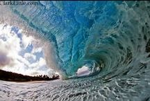 Waves / Just beautiful watery waves depicted in photos and art / by Beth Weston