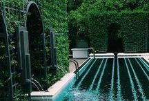 Architecture & Landscape / Backyard and garden ideas. Pools, ponds, fountains, architectural things.