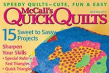 Digital Magazines from McCall's / Instant PDF downloads of your favorite quilting magazines and special issues. / by McCall's Quilting