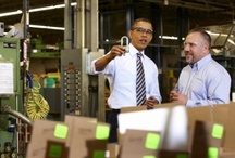 President visits Master Lock