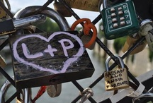 Love Locks / Master Lock Love Locks can be seen on bridges all over the world. It is an international custom for sweethearts to lock a padlock to a bridge, symbolizing their everlasting love.