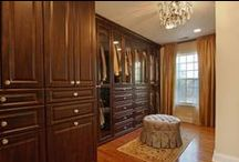 "Classic Closets / Closets are essential to any home, and they can be customized per your organization standards. Here are a few of Baird & Warner's best closets. And, remember: ""Real estate is more than just the home you live in - it's the life you get out of it."""