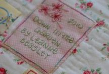Quilt Labels - Fun Ideas / Every quilt deserves a label! Add identifying information to your quilts, from masterpieces to beaters, with these inspiring ideas. / by McCall's Quilting