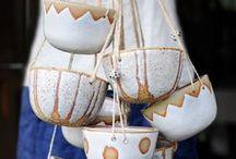 Clay, pottery