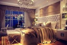Condo Living / Dream condo lifestyle. I love modern, simple spaces but also colourful and black & white spaces. Wood floors and elegant bedrooms.