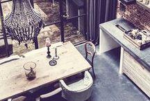 Creative Spaces / Workspace, artist studio, home office