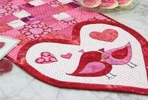 Valentine Quilt Ideas and Free Stuff / Valentine quilts and other projects quilters may like to make for Valentine's Day / by McCall's Quilting