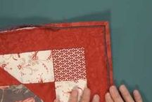 Quilt Binding / We've got tons of ideas for great finishing edges for your quilts! Free video tutorials and inspiring photos will help get you to the finish line in no time! Want to know how to bind a quilt? You've come to the right place! / by McCall's Quilting