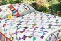 Scrap Quilt Patterns / At McCall's Quilting, we LOVE scrappy quilts! Not all quilt patterns lend themselves well to working with scrap fabrics and fabrics from your stash, but these beauties are perfect for scrap quilting. #scrapquiltfun / by McCall's Quilting