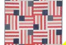 Patriotic Quilt Patterns and Other Projects / From classic red, white, and blue designs to flag quilts to quilt patterns perfect as Quilts of Valor or other gifts to service men and women and veterans, this board showcases patriotic quilt patterns and other projects that proudly depict our love of the good old USA! / by McCall's Quilting